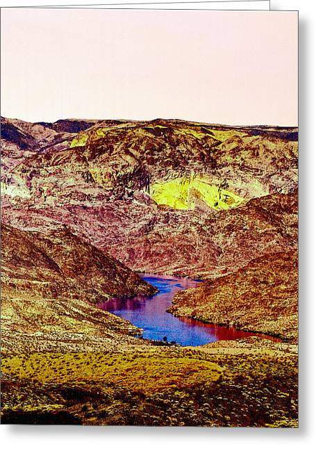 Desertview Greeting Cards - Sunset at the Grand Canyon Greeting Card by  Bob and Nadine Johnston