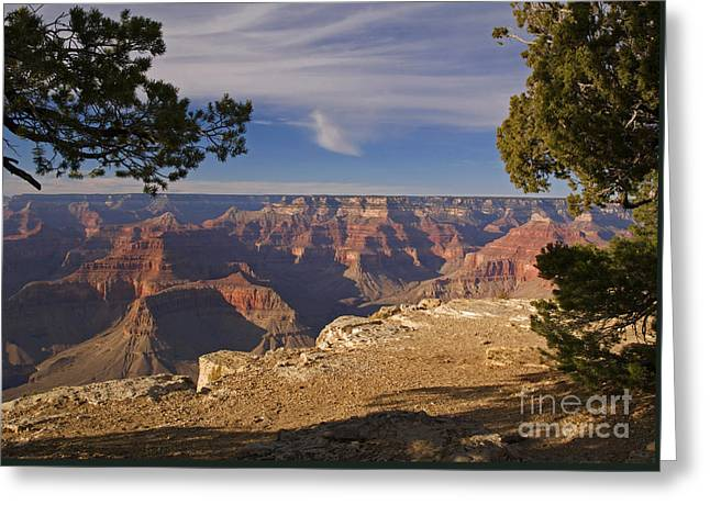 Sunset At Hopi Point Greeting Card by Alex Cassels