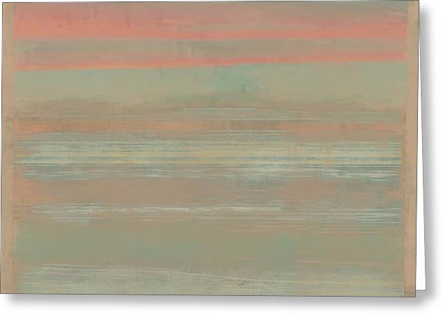 Sunset Beach Greeting Card by Lonnie Christopher