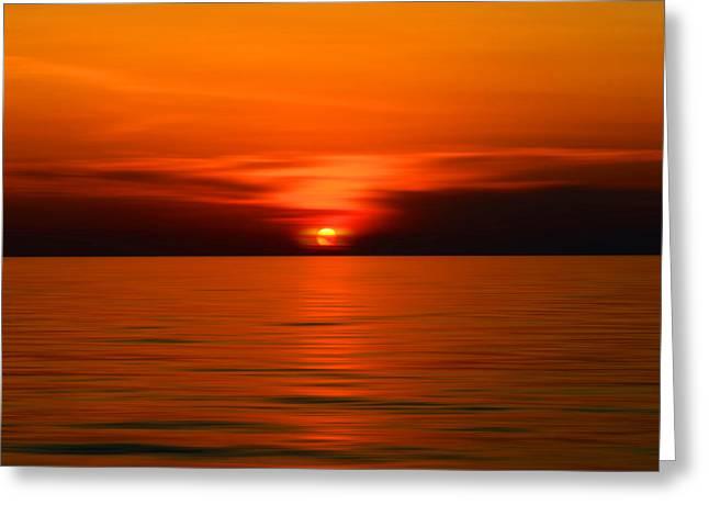 Sunset Greeting Cards Greeting Cards - Sunset Greeting Card by Borislav Bajkic
