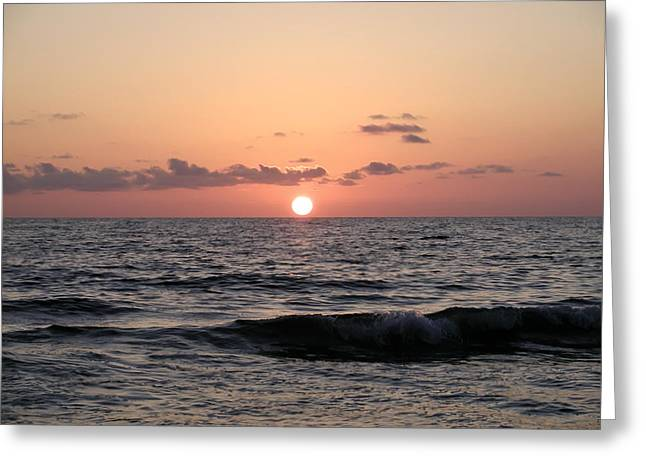 St Petersburg Florida Greeting Cards - Sunset Florida Style Greeting Card by Bill Cannon