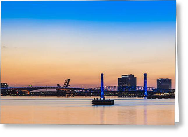 Jacksonville Greeting Cards - Sunset from the Met Greeting Card by William Lee