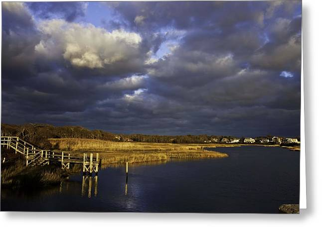 Hearten Photographs Greeting Cards - Sunset Glow Greeting Card by Keith Woodbury