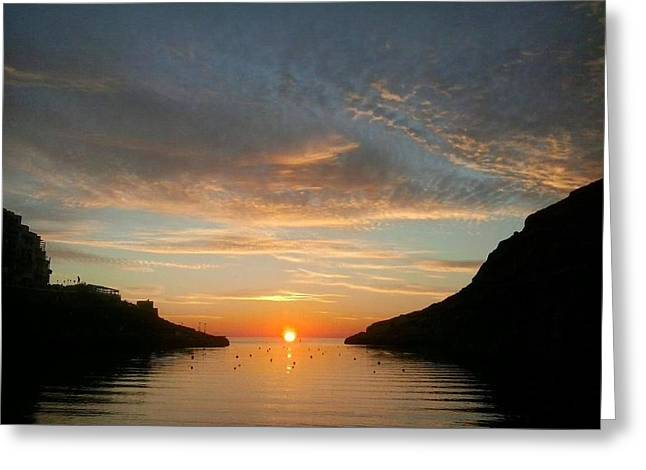 Get Well Card Framed Prints Greeting Cards - Sunset Gorge Greeting Card by Casey Herbert