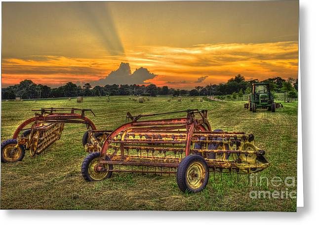 Hayfield Greeting Cards - To Be Continued Greeting Card by Reid Callaway