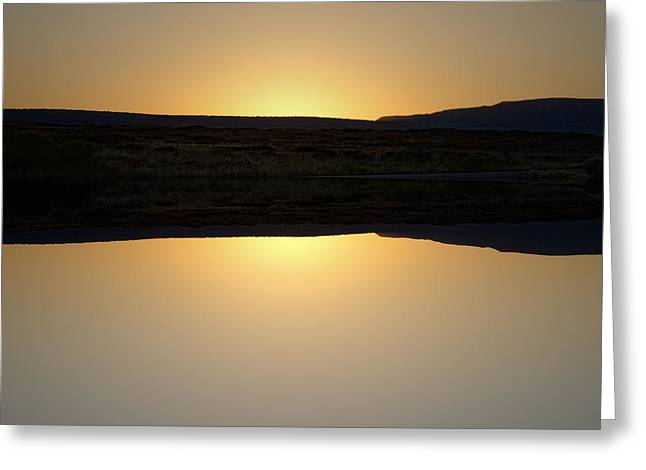 Chromatic Greeting Cards - Sunset II  Greeting Card by David Gordon