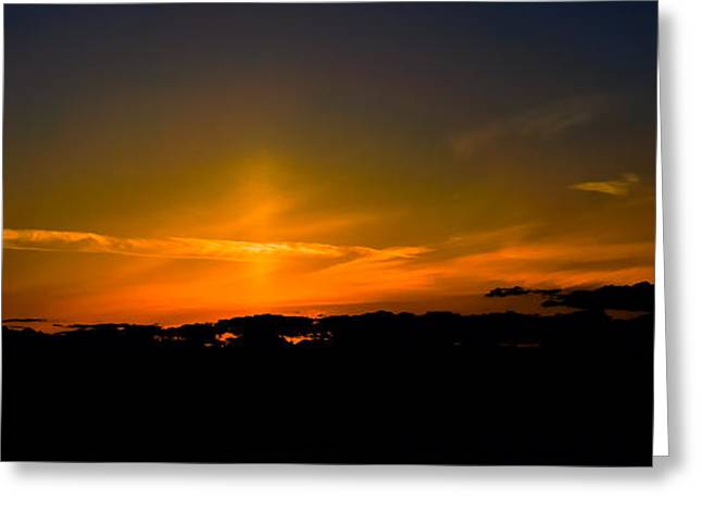 Bainbridge Island Greeting Cards - Sunset III Greeting Card by Ronda Broatch