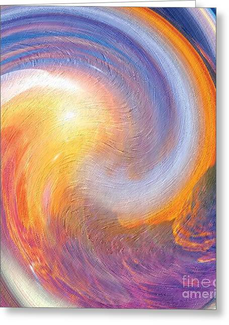 Sunset Illusions Greeting Card by Sara  Raber