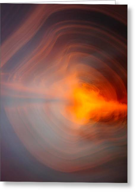 D700 Greeting Cards - Sunset in abstract No.1 Greeting Card by Chris Modlin