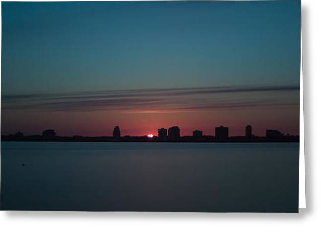 Jacksonville Greeting Cards - Sunset in Jacksonville Greeting Card by Jeff Turpin