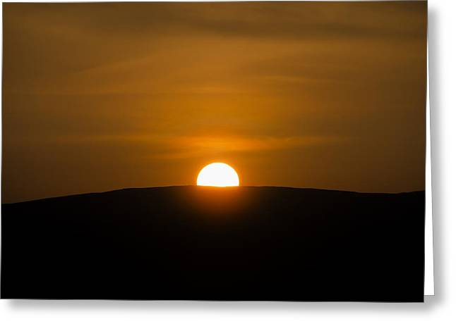 Sligo Greeting Cards - Sunset in Sligo Ireland Greeting Card by Bill Cannon