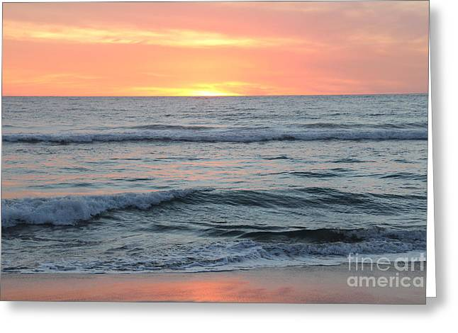 Linda Queally Greeting Cards - Sunset in Todos Santos Greeting Card by Linda Queally