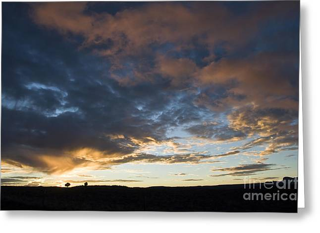 Gorgeous Sunset Greeting Cards - Sunset in Utah Greeting Card by Delphimages Photo Creations