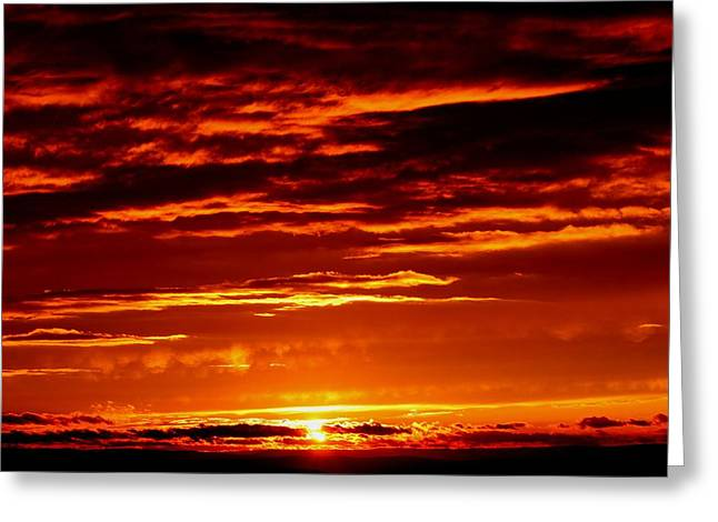 Jahred Allen Photography Greeting Cards - Sunset Greeting Card by Jahred Allen