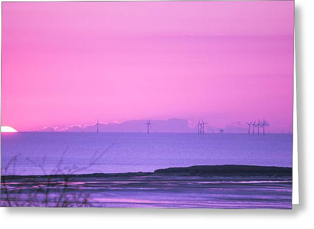Sunset Greeting Card by Spikey Mouse Photography