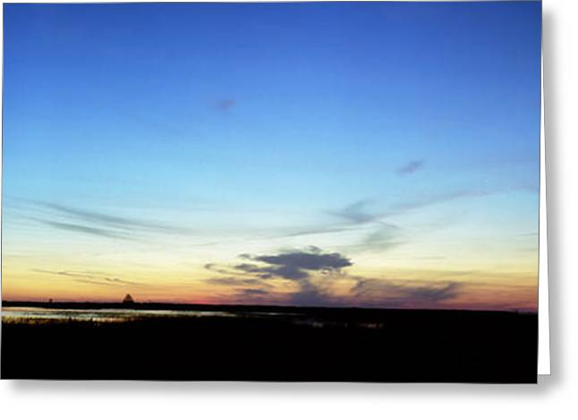 Chris Kusik Greeting Cards - Sunset. Lake Kissimmee Greeting Card by Chris  Kusik