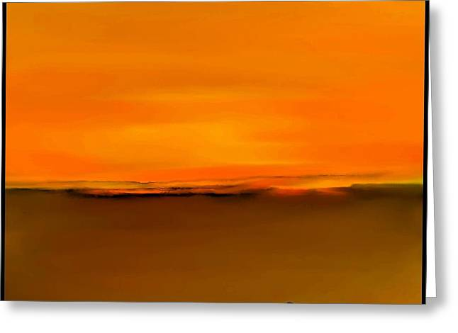 Fineartamerica Greeting Cards - Sunset over Landscape  #7 Greeting Card by Diane Strain
