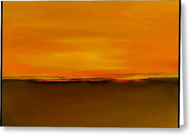 Fineartamerica Greeting Cards - Sunset over Landscape  #9 Greeting Card by Diane Strain