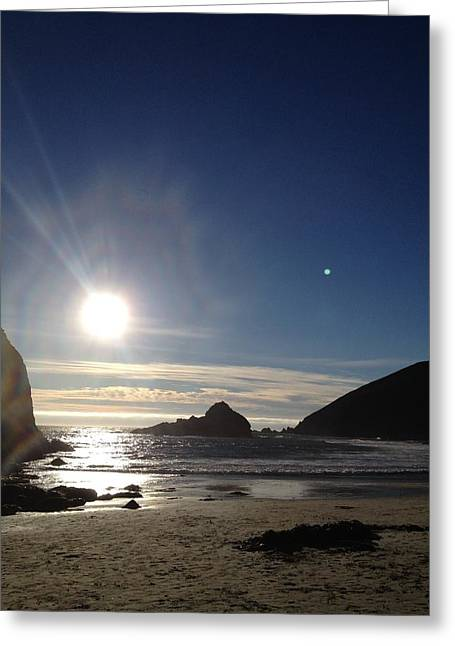 Pfeiffer Beach Greeting Cards - Sunset Over Pfeiffer-2 Greeting Card by Tom  Shaw