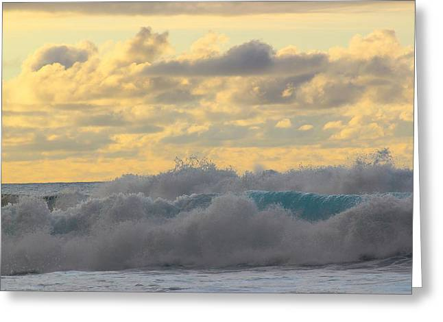 Hawaii Greeting Cards - Sunset Rollers  Greeting Card by Kimberly  Reeves