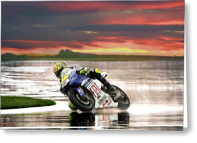 Recently Sold -  - Apparel Greeting Cards - Sunset Rossi Greeting Card by Blake Richards