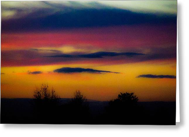 Sunset Serenity Greeting Card by Joe Bledsoe