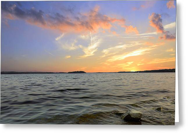 Purchase Photography Online Greeting Cards - Sunset Greeting Card by Steven  Michael