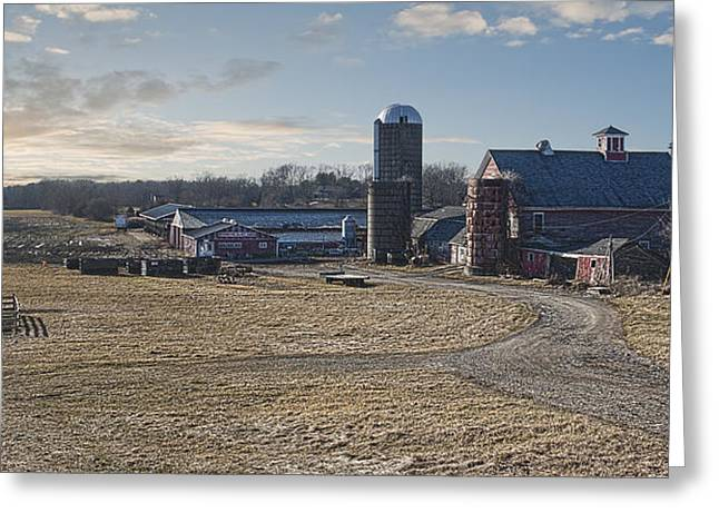 Farm Life Framed Prints Greeting Cards - Sunshine Dairy Greeting Card by Rick Mosher