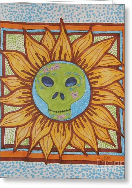 Sunshine Greeting Card by Marcia Weller-Wenbert