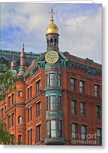 Weathervane Greeting Cards - Suntrust Bank Building Greeting Card by Jemmy Archer