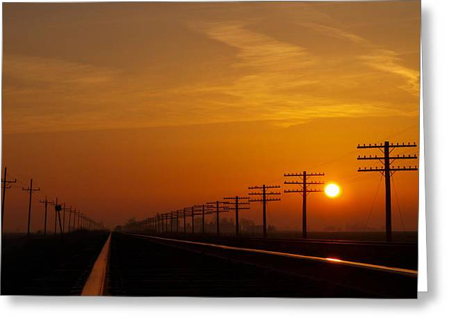 Tom Druin Greeting Cards - Sunup Greeting Card by Tom Druin