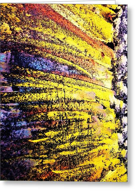 Dwell Pastels Greeting Cards - SunWatched Greeting Card by S Patrick Hagen