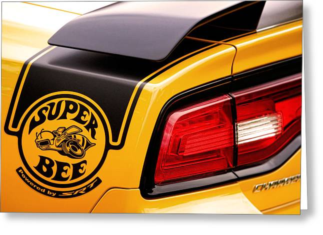 Super Bee Powered By Srt Greeting Card by Gordon Dean II