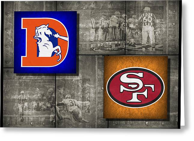 Broncos Photographs Greeting Cards - Super Bowl 24 Greeting Card by Joe Hamilton