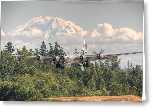 B29 Bomber Greeting Cards - Super Fortress Greeting Card by Jeff Cook