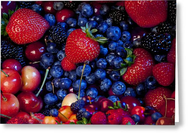 Harvest Photographs Greeting Cards - Super Healthy Greeting Card by Alixandra Mullins