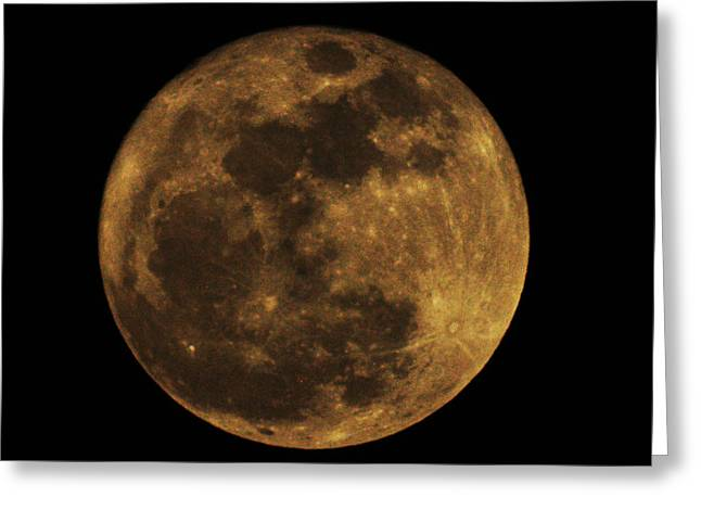 Super Moon Greeting Cards - Super Moon Greeting Card by Bill Cannon