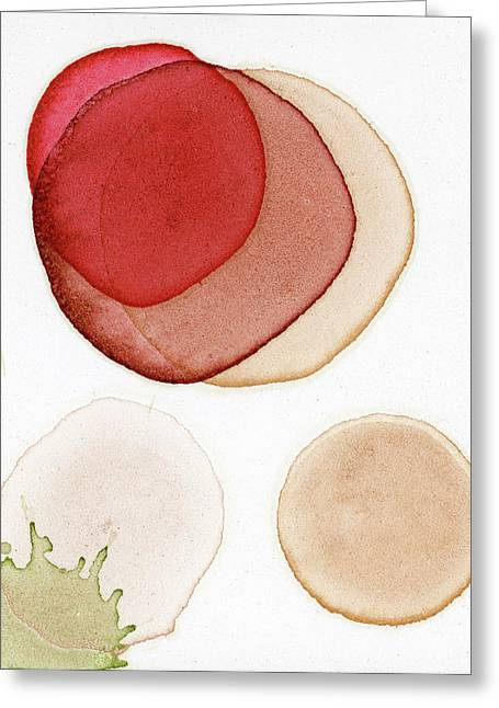Super Moon For Japan Greeting Card by Andrea Pramuk