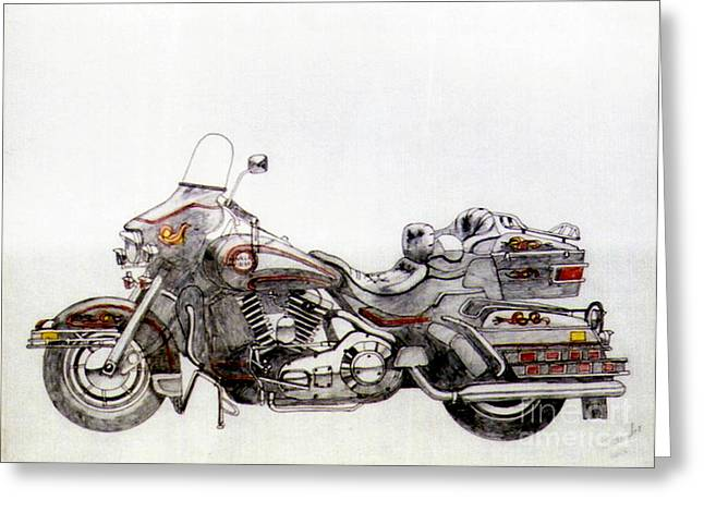 Camshaft Greeting Cards - Super smooth Greeting Card by Stephen Brooks