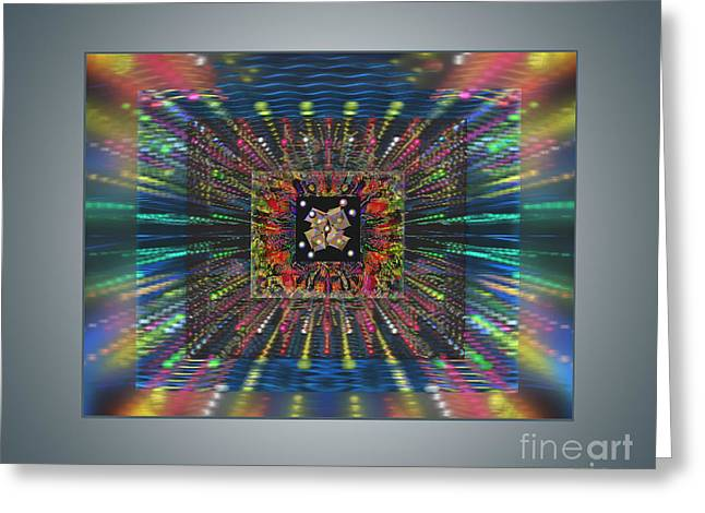 Superconductivity Greeting Card by Ursula Freer