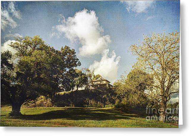 Historic Site Greeting Cards - Superintendents House Greeting Card by Joan McCool