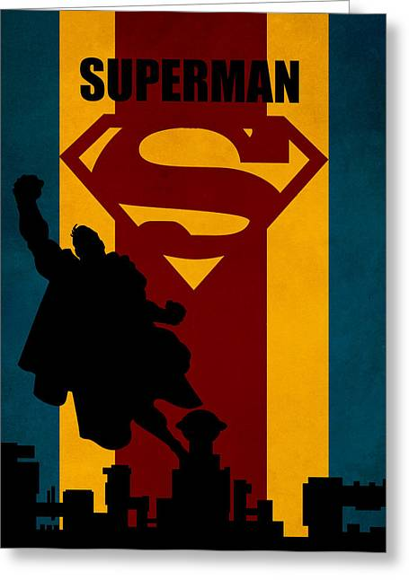 Lex Luthor Greeting Cards - Superman Greeting Card by FHTdesigns