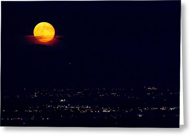 Supermoon 2 Greeting Card by James BO  Insogna