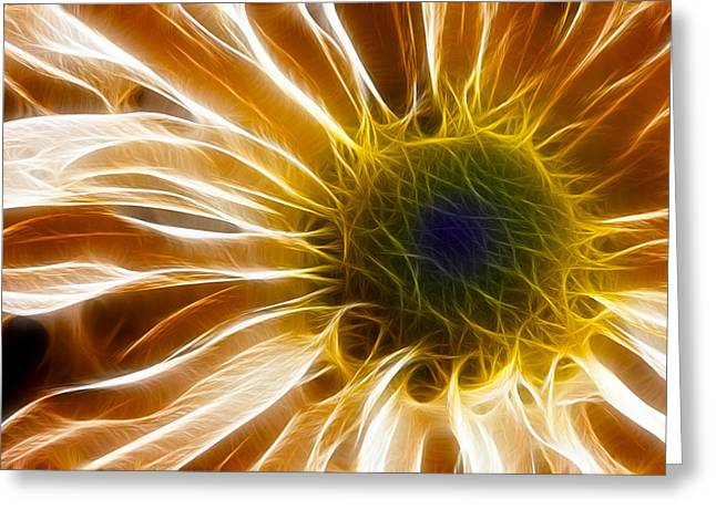 Flora Photo Greeting Cards - Supernova Greeting Card by Adam Romanowicz