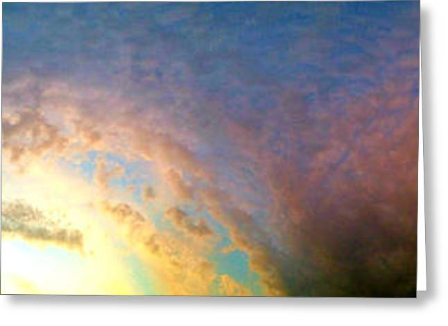 Gloaming Greeting Cards - Superstorm 3 Greeting Card by Robert Pierce