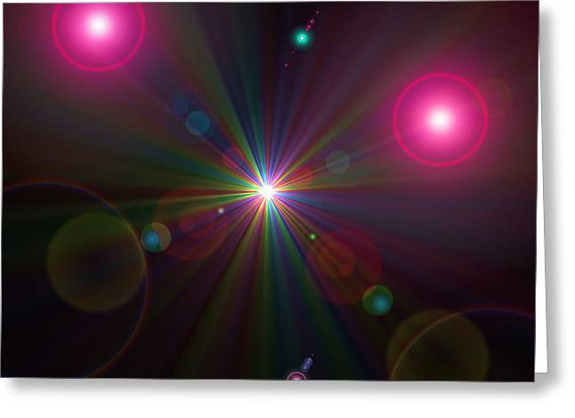 Astro Images Greeting Cards - Superworld Greeting Card by Karl Jones