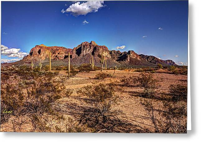 Hdr Landscape Greeting Cards - Supes Wide Greeting Card by George Lenz