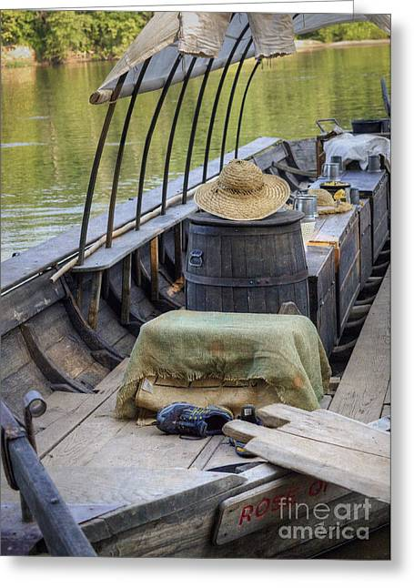 Supper Is Ready Greeting Card by Pete Hellmann