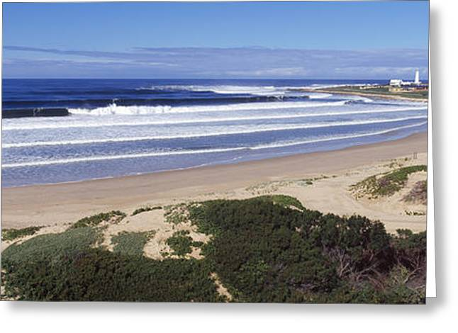 Francis Greeting Cards - Surf In The Sea, Cape St. Francis Greeting Card by Panoramic Images