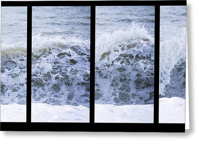 Exciting Surf Greeting Cards - Surf Greeting Card by Matthew Gibson